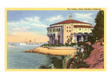 Casino at Catalina, California Posters