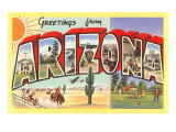 Greetings from Arizona Prints