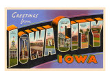 Greetings from Iowa City, Iowa Art