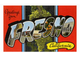 Greetings from Fresno, California Art