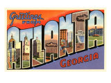 Greetings from Atlanta, Georgia Art