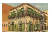 Old Absinthe House, New Orleans, Louisiana Print