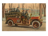 Fire Truck, Manchester, New Hampshire Art