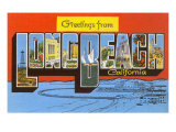 Greetings from Long Beach, California Print