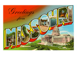 Greetings from Missouri Print