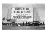 Drive-In Theatre, Los Angeles, California Posters
