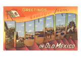 Greetings from Tijuana, Mexico Posters