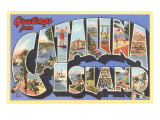Greetings from Catalina Island, California Posters