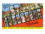 Greetings from St. Augustine, Florida Prints