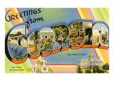 Greetings from Georgia Prints