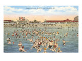 Pontchartrain Beach, New Orleans, Louisiana Poster