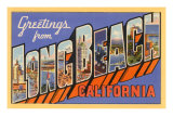 Greetings from Long Beach, Long Beach, California Poster