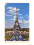 Eiffel Tower, Paris, France Print