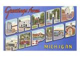 Greetings from Grand Rapids, Michigan Art