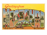 Greetings from Missouri Art