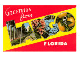 Greetings from Largo, Florida Posters