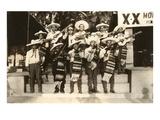 Mariachi Band, Mexico Kunstdrucke