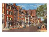 Beacon Street, Boston, Mass. Poster