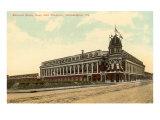 Extérieur du stade de baseball Shibe, Philadelphie, Pennsylvanie Posters