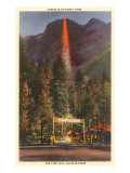 Fire Fall, Glacier Point, Yosemite, California Posters