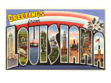 Greetings from Louisiana Prints