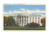 South Side, White House, Washington, D.C. Print