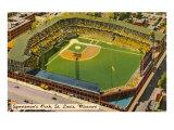 Sportsman's Park, St. Louis, Missouri Affiche
