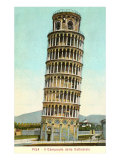 Leaning ower of Pisa, Italy Print