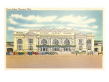 Union Station, Worcester, Mass. Giclee Print