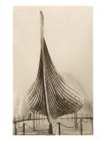 Viking Ship, Oslo, Norway Print