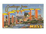 Greetings from Lowell, Mass. Art