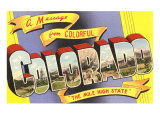 Message from Colorful Colorado Prints