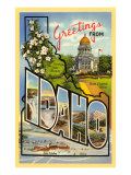 Greetings from Idaho Prints