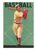 Baseball Batter Affiches
