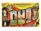 Greetings from St. Louis, Missouri Prints