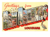Greetings from New Orleans, Louisiana Posters