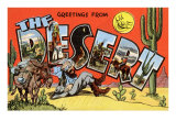 Greetings from the Desert Prints