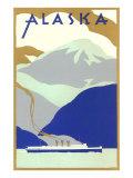 Alaskan Scene, Poster Style Prints