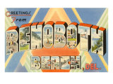 Greetings from Rehoboth Beach, Delaware Prints