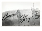 Nose Art, Camera Shy, Pin-Up Posters