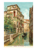 Van Axel Canal, Venice, Italy Prints