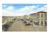 Business District, Newport Beach, California Giclee Print