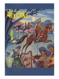 Romanza Mexicana Poster, Village Scene at Night Prints