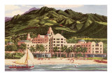 Royal Hawaiian Hotel, Hawaii Posters