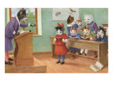 Cats in School Prints