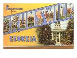 Greetings from Brunswick, Georgia Prints