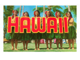 Greetings from Hawaii Posters