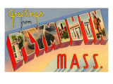 Greetings from Plymouth, Mass. Prints