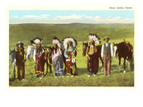 Sioux Indian Chiefs Prints