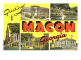 Greetings from Macon, Georgia Prints